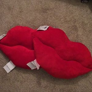 Red Lip Pillows
